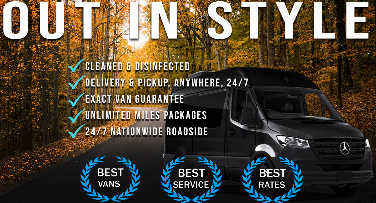 Van Rentals Los Angeles